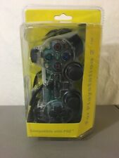 New In Package! Sony Playstation 2 Clear Controller! 3rd Party PS2 Joystick NIP