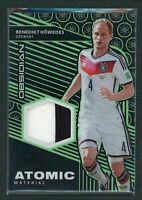 2019-20 BENEDIKT HOWEDES 08/25 JERSEY PATCH PANINI OBSIDIAN ATOMIC MATERIAL
