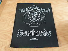 MOTORHEAD - BASTARDS GIANT BACK PATCH (NEW) & OFFICIAL BAND MERCHANDISE
