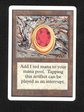 MAGIC THE GATHERING MTG MOX RUBY UNLIMITED POWER 9 NINE X1