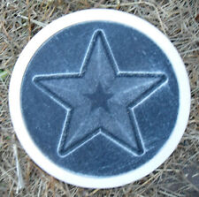 Star stepping stone concrete mold w frame plaster mold concrete mold mould