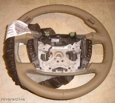 BMW E65 E66 7 Series 2002-2008 Beige Leather Steering Wheel With Steptronic NEW