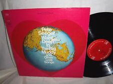 PETE SEEGER-WAIST DEEP IN THE BIG MUDDY+OTHER LOVE SONGS-NM/VG+ VINYL RECORD LP