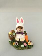WEE FOREST FOLK MICE;MISS ESTHER BUNNY;M-306a