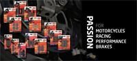 SBS Road Carbon Rear Brake Pads 730RQ