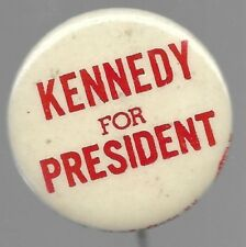 ROBERT KENNEDY FOR PRESIDENT POLITICAL CAMPAIGN PIN BUTTON