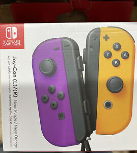 Nintendo Switch Neon Purple Joy-Con with Wrist Strap