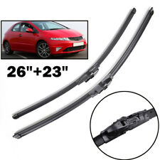 """26"""" 23"""" Front Window Windshield Wiper Blades Fit For Honda Civic MK8 2005-2011"""