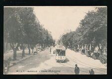 France MARSEILLE Cours du Chapitre Tram 743 c1902 u/b PPC