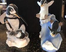 Franklin Mint Wow & Woosh Penguin Figurines