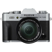 Fujifilm X-T20 Mirrorless Digital Camera with 16-50mm Lens (Silver)! BRAND NEW!!