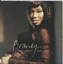 Brandy – Talk About Our Love    cd single in cardboard    feat. Kanye West