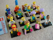 LEGO 71009 SIMPSONS MINIFIGURES SERIES 2 COMPLETE SET OF 16 - NEW  -SEE MY LEGO