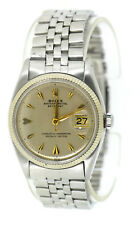 Rolex Datejust Stainless Steel Watch 6605