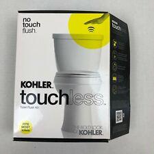 KOHLER Touchless Toilet Flush Kit Hands Free Flusher Model #1954-0 Bathroom