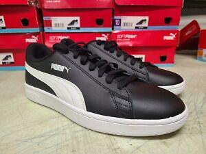 NEW Men's PUMA Smash V2 Black Athletic Sneakers Softfoam Shoes - Pick Size