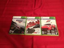 Need For Speed Rivals, Most Wanted & Forza 4- Xbox 360 L@@k