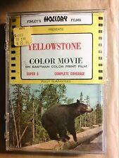 RARE FILM SUPER 8 MM COULEURS / PARC DE YELLOWSTONE / TRES BON ETAT+++