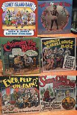 "7 LP LOT R. Crumb Cover ""EAST RIVER STRING BAND"" $180 VALUE Robert Crumb cover"
