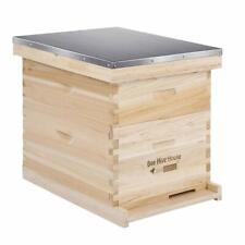 VIVOHOME Complete Beekeeping 20 Frame Beehive Box 10 Medium+10 Deep Bee Hive Kit