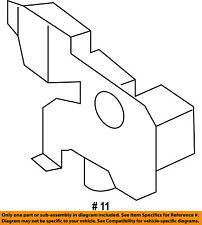 FORD OEM 15-16 Edge Hood-Lock Latch FT4Z16700A