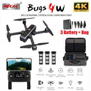 MJX B4W Bugs 4W GPS Drone + 4K Camera 5G WIFI FPV Ultrasonic B4W Quadcopter Q4A6