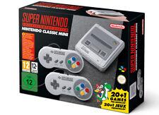 New Super Nintendo Entertainment System Mini Console Classic European Edition