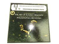 The Art of Eugene Ormandy 3 3/4 IPS 4 Track Stereo Reel Tape Philadelphia