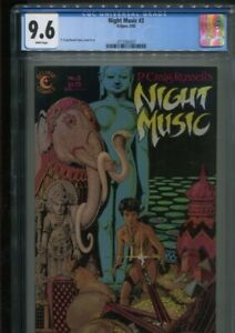 NIGHT MUSIC 3 P. CRAIG RUSSELL ADAPTATION THE JUNGLE BOOK BEST ONLY CGC NM+ 9.6
