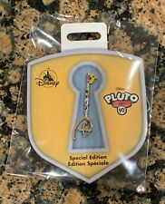 Disney Store Pluto Key Pin 90th Anniversary Limited Edition In Hand