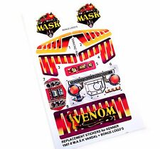 MASK stickers for KENNER M.A.S.K VANDAL Personalized + BONUS