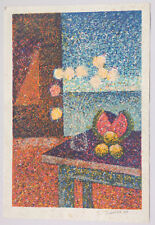 Carmelo Sobrino Bodegon Serigraph 1999 Puerto Rico Art Print