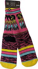 Macho Man Randy Savage WWE Mens Knit Odd Socks