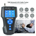 NF-8601S Network Cable Tester TDR Multi-functional LCD Tracker RJ45/RJ11/BNC USA