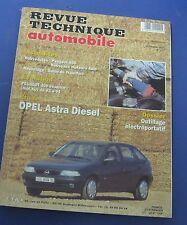 Revue technique  RTA 577 Opel astra diesel