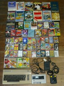 Commodore 64 Computer, Breadbin, with 65 Games Bundle in working condition