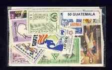 Guatemala 50 timbres différents