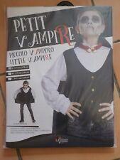 Déguisement costume NEUF vampire 5 6 7 ans garçon 128 cm halloween
