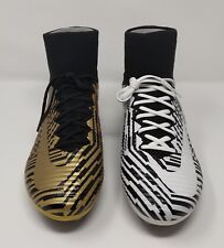 Nike Mercurial SuperFly V Nike ID TIGER+ZEBRA Mix N' Match Soccer Cleats Sz 11.5