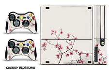 Skin Decal Wrap for Xbox 360 E Gaming Console & Controller Sticker Design CHERRY