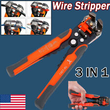 Metal Automatic Cable Wire Stripper Cutter Hand Crimper Terminal Stripping Tool