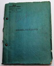 GENTLEMEN PREFER BLONDES *1949 BROADWAY Musical Script * Not Marilyn Monroe Film