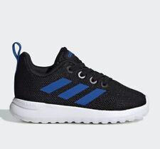 Kids Adidas Lite Racer CLN EE6963 Toddler sneakers black/blue new