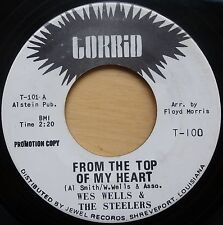 WES WELLS & THE STEELERS – FROM THE TOP OF MY HEART – US TORRID PROMO NM