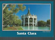 Great America's Merry-Go-Round Carousel Santa Clara California Postcard