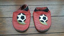 Robeez football en cuir souple bébé enfant landau chaussures chaussons Bootie 18-24 mois