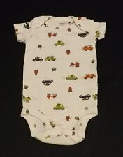 Carter's One-Piece Knit Tee w/snap crotch - size 3 months