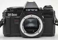 Carena SX-300 Body Gehäuse SLR analoge Spiegelreflexkamera Kamera