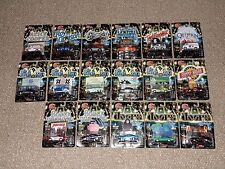 Lot of 17 Racing Champions Hot Rockin' Diecast Cars MOC New The Doors Queen More