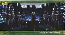 Star Wars Clone Wars Widevision Silver Stamped Parallel Base Card [500] #67
